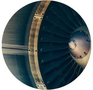 aircraft turbine blades