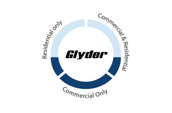 The Glyder water fed pole by Ionic Systems Australia - best use graph