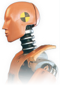 Crash test dummy - Find out about our crash testing