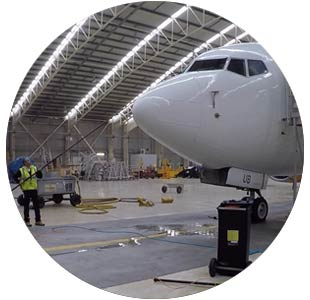 task2 system clean aircraft windscreen, aviation safety is our priority